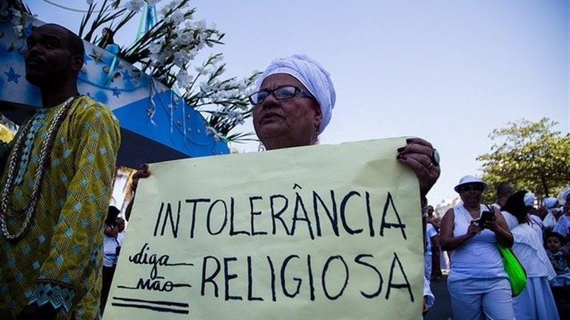 INTOLERÂNCIA RELIGIOSA PODE SER DENUNCIADA PELO 190