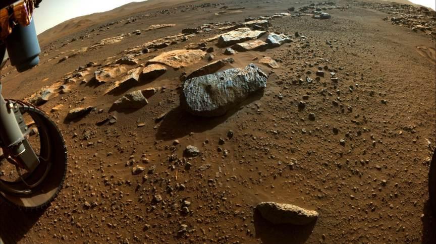 Amostras de rochas coletadas em Marte podem conter bolhas de água antigas.